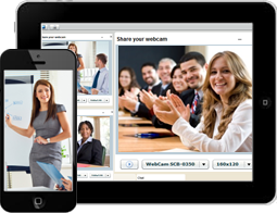High-quality video with toll- quality voice. Video Meeting Room in sync with desktop sharing & presentation tools.