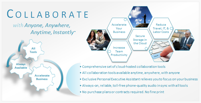 Collaborate with Anyone, Anytime, Anywhere